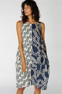 Camilla Perkins X Gorman AQUARIUS SPLICE TULIP DRESS – multi print dresses