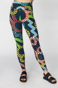 Camilla Perkins X Gorman AQUARIUS SPORT PANT – colourful printed leggings