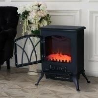 Gideon Electric Fireplace by Belfry Heating – cast iron effect fireplace