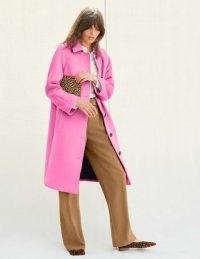 Boden Billington Coat – Plum Blossom ~ pinks coats