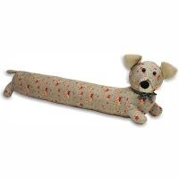 Floral Dog Fabric Draught Excluder by Brambly Cottage
