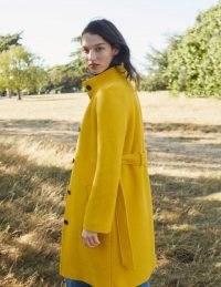 Boden Cartwright Coat – Maize ~ bright yellow coats