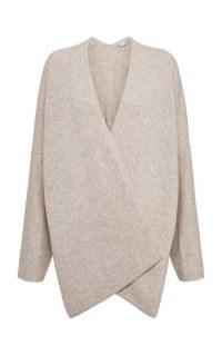 Dorothee Schumacher Cozy Cashmere-Wool Wrap Cardigan | luxe cardigans