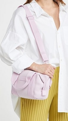 Dagne Dover Extra Small Landon Carryall ~ pink mini carryalls ~ neoprene carry all - flipped