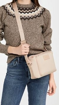 Dagne Dover Micah Crossbody Bag ~ nude tone cross body bags