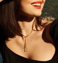 Monica Vinader Doina Lariat and Pendant Set | longline necklaces | jewellery sets