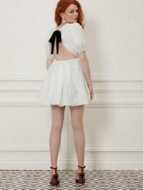 sister jane Fancy Footwork Open Back Mini Dress | mini dresses | party fashion