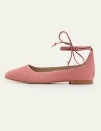 Boden Effie Ballet Flats Dusty Rose