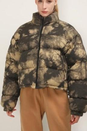 storets Hazel Reversible Printed Puffer Jacket   casual padded winter jackets - flipped