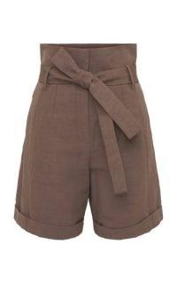 Dorothee Schumacher Into The Sun Linen-Cotton Shorts