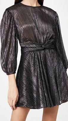 IRO Irisa Dress | metallic party dresses