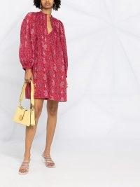 Isabel Marant Étoile paisley-print mini dress