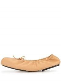 Khaite The Ashland ballerina shoes | elasticated ballerinas