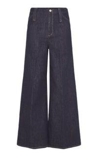 Dorothee Schumacher Love Stretch Wide-Leg Jeans | retro denim | vintage look flares