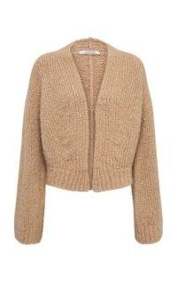 Dorothee Schumacher Luxury Cashmere-Blend Cardigan | neutral open front cardigans
