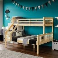 Alyse Triple Sleeper Bunk Bed by Mack + Milo