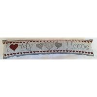 Delanie Fabric Draught Excluder by Marlow Home Co. – zipped closure – tapestry design
