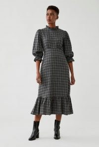 GHOST DARCEY DRESS Woven Check ~ checked dresses