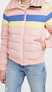 Perfect Moment Queenie Jacket ~ pink padded winted jackets
