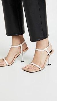 Proenza Schouler Square Toe Strap Sandals / squared off toes