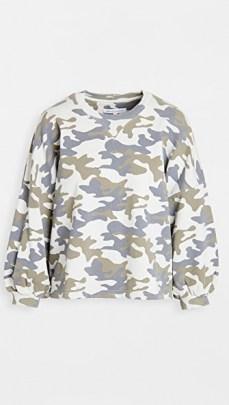 Rebecca Minkoff Rosie Sweatshirt / camo sweatshirts