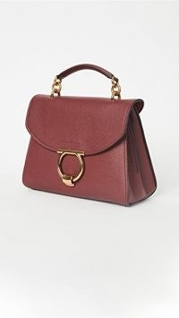 Salvatore Ferragamo Margot Small Bag in Carmine