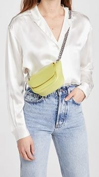 Simon Miller Mini Bend Bag in Citron