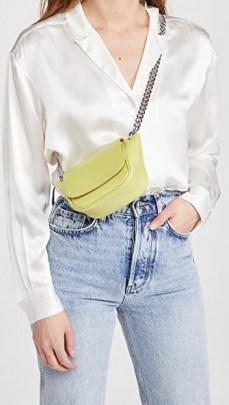 Simon Miller Mini Bend Bag in Citron