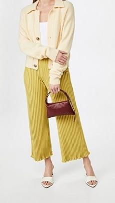 Small burgundy handbag ~ Simon Miller Mini Puffin Bag