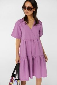 gorman SMOCK WRAP DRESS ~ organic cotton wrap dresses
