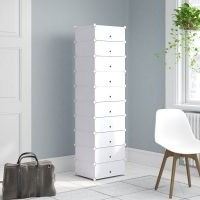 20 Pair Shoe Storage Cabinet by Symple Stuff – perfect for a small area