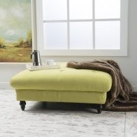 Alden Cocktail Ottoman by Three Posts – Elegant yet modern, this large footstool is a cozy design accent for a living room