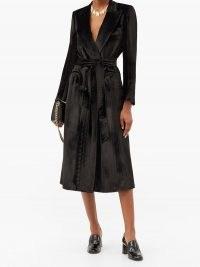 BLAZÉ MILANO Étoile silk-blend velvet blazer dress ~ luxe jacket style dresses