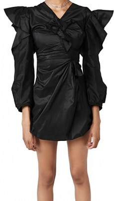 TRE by Natalie Ratabesi The Charlotte Dress | LBD | ruffled party dresses - flipped