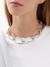 CHARLOTTE CHESNAIS Turtle sterling-silver necklace / chunky statement necklaces / contemporary jewellery