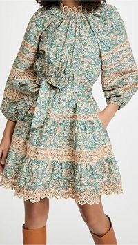 Ulla Johnson Ardith Dress ~ lace trim dresses