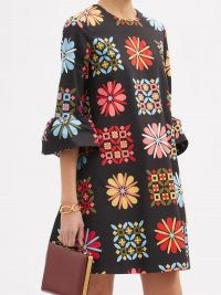 LA DOUBLEJ 24/7 Verata Grande-print cotton-blend dress | retro prints | vintage style dresses