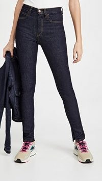 Victoria Victoria Beckham LA High Jeans ~ dark blue skinnies ~ denim