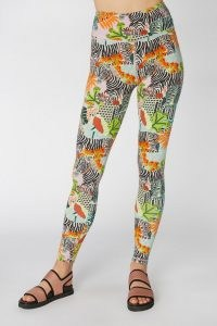 Camilla Perkins X Gorman ZEBRA ACTIVE PANT – bold print leggings