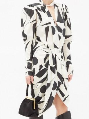 SABEL MARANT Taj fringed suede cross-body bag ~ 80s style dresses ~ vintage look clothing ~ padded shoulders