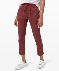 lululemon Beyond the Studio Pant Slim / casual cropped pants