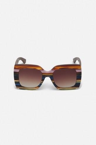 gorman BOWIE SUNGLASSES / square retro sunspecs / vintage style eyewear