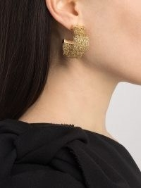 Completedworks Sense and Nonsense In Silicon Valley hoops earrings | wide statement hoops