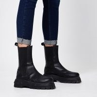 River Island Denim Amelie turn up hem skinny jeans | cuffed skinnies