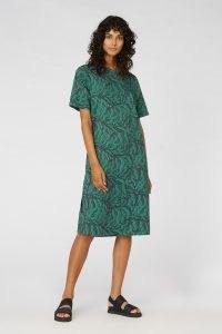 Camilla Perkins X gorman EASY TIGER TEE DRESS / animal print shift dresses