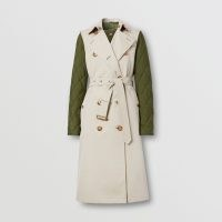 BURBERRY Sleeveless Trench Coat with Detachable Warmer ~ contemporary outerwear