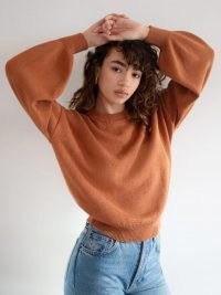 Reformation Freya Oversized Sweater   volume sleeve sweaters