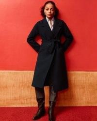 Jigsaw FREYA TWILL TRENCH | dark navy belted coats