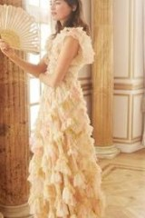 needle & thread GENEVIEVE ROSE GOWN ~ romantic occasion gowns ~ feminine occasionwear ~ romance ~ floral party dresses