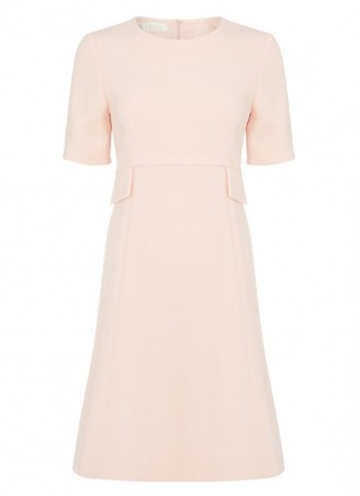 Goat GERANIUM SHIFT DRESS APRICOT PINK ~ vintage style dresses - flipped